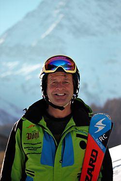 Skilehrer Günther Pöhl