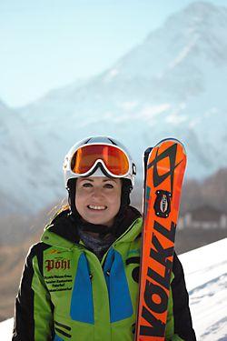 Skilehrerin Tanja