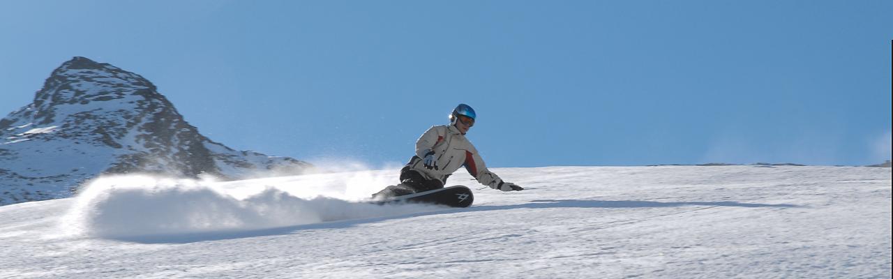 Snowboardkurs in Pfelders