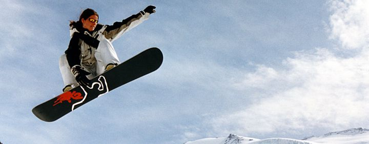 Snowboardkurs mit Günther
