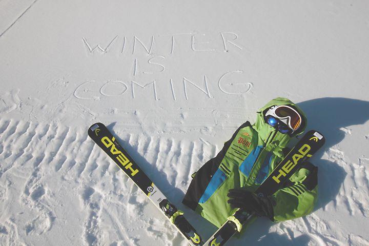 Skisaison in Pfelders